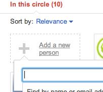add friends to google+ circles