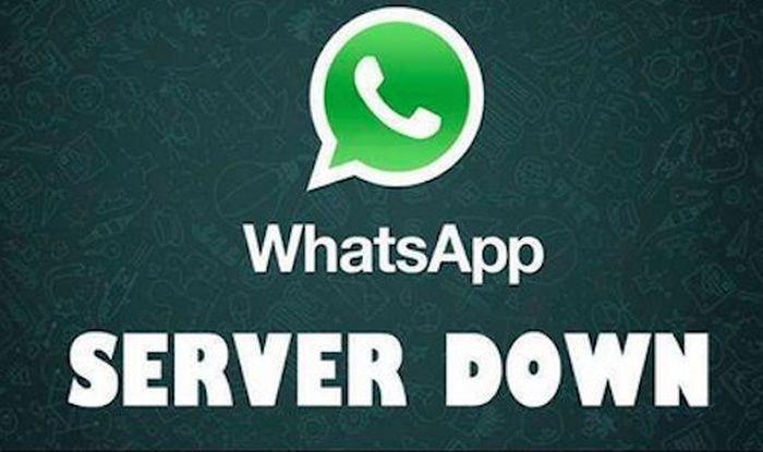 whatsapp not working server down